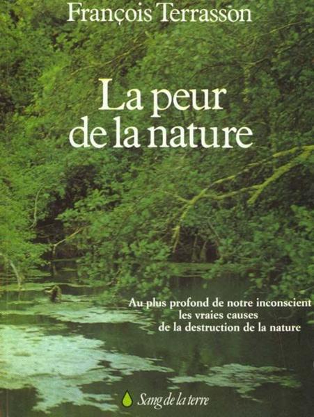 Couverture La peur de la Nature